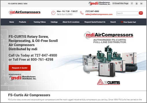 FS-Curtis Air Compressors