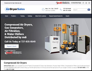 Parker Air Dryer Sales