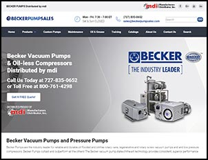 Becker Pump Sales