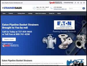 Eaton Pipeline Basket Strainers